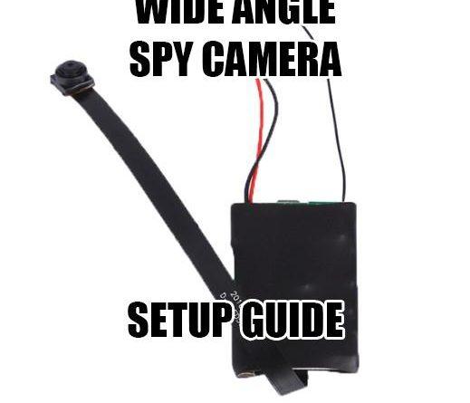 Wide Angle Spy Camera Setup Guide