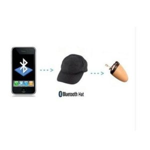 Bluetooth Spy Hat and Mini Earpiece