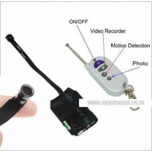 DIY Spy Camera with Free Motion Mode Remote Wide Angle