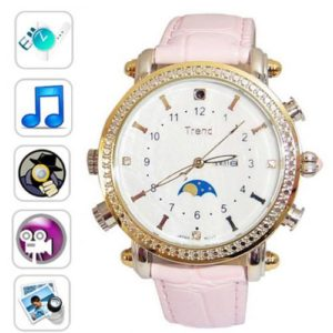 Ladies Spy Camera Watch