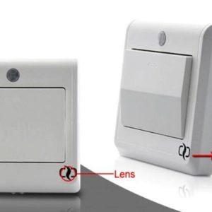 Light Switch GSM Spy Camera