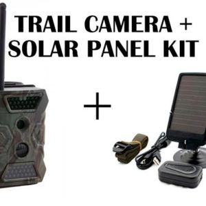 Outdoor 3G Spy Camera with Solar 3GM3