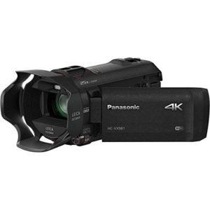 Panasonic HD 4K Camcorder with Wi Fi