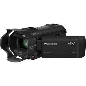 Panasonic HD 4K Camcorder with Wi Fi