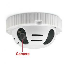 Smoke Detector CCTV Spy Camera