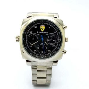 Spy Watch Camera with Night Vision Metal Strap