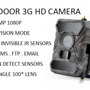 Wireless Outdoor Spy Camera 3GM2