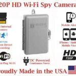 Wireless Spy Camera Utility Box for Smartphones