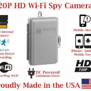 Wireless Spy Camera Utility Box for Smartphones