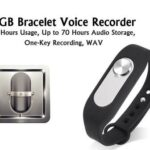 audio bugging bracelet 4gig