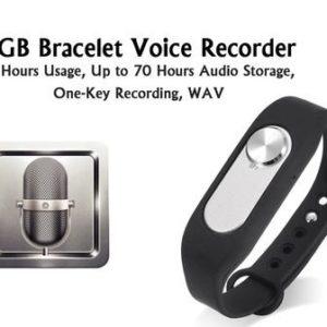 audio bugging bracelet 4gig