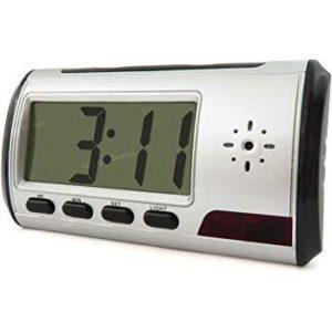 Motion Detection Spy Clock + Free 16GB