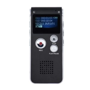 digital dictaphone voice recorder