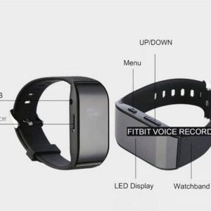 fit bit voice recorder