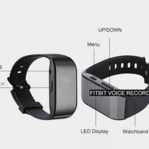 fit bit voice recorder