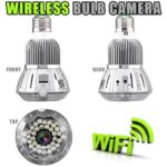 hidden wireless cctv wifi spy camera bulb on sale south africa spy shop