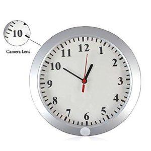 latest wall mounted spy camera nanny cam clock south africa