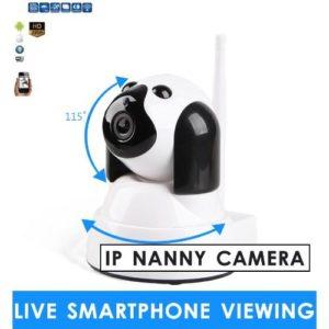 mini wireless nanny camera for smartphones