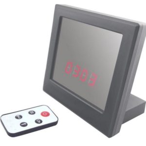 mirror digital camera clock spy shop