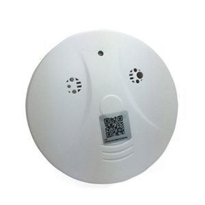 Smoke Detector Spy Camera for Smartphones