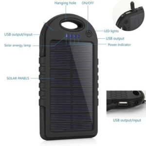 solar powered charger for cameras