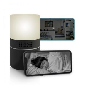 Rotating Spy Camera Lamp + Free 32GB