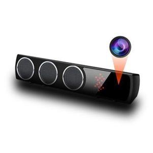 wifi speaker spy camera