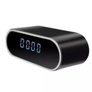 wireless camera clock wifi spy shop