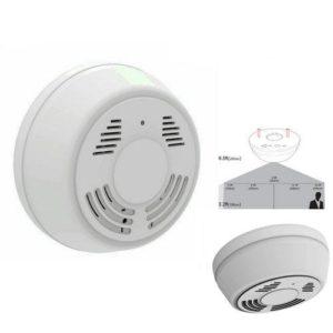 wireless smoke detector camera