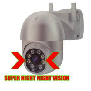 pan tilt ip wifi night vision camera