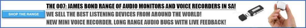 the spy world voice recorders
